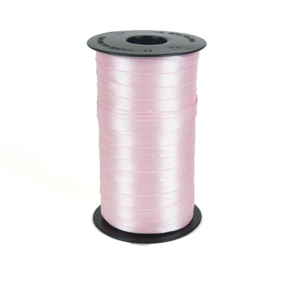 Fita De Cetim Ph Fit 7mm - Nº1 C / 100 Metros - Várias Cores Cor 206 Rosa Claro