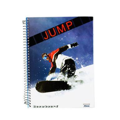Jump-96-Folhas-Snowboard