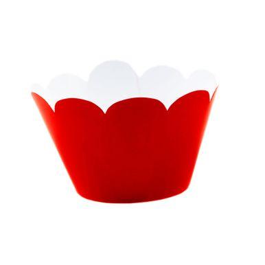 Wrap-Para-Cupcake-Vermelho