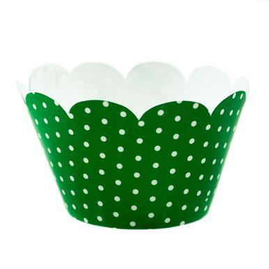 Wrap-Para-Cupcake-Verde-com-Poa-Branco-2