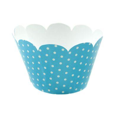 Wrap-Para-Cupcake-Azul-Claro-com-Poa-Branco-2
