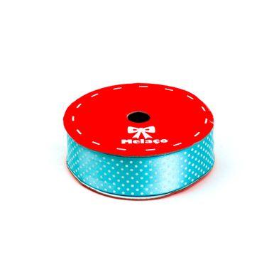fita-cetim-melaco-25mm-azul-claro-com-poa-branco-com-10m-1