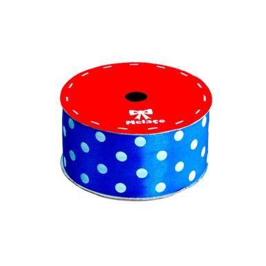 fita-cetim-melaco-40mm-azul-com-poa-branco-com-10m-1