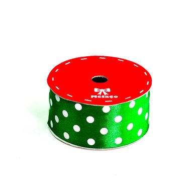 fita-cetim-melaco-40mm-verde-com-poa-branco-com-10m-1