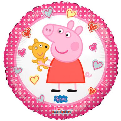 Balao-Metalizado-Air-filled-9-Polegadas-Peppa-Pig
