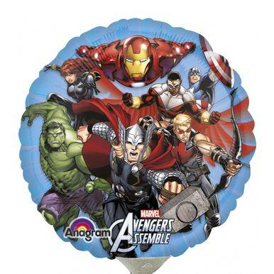Balao-Metalizado-Air-filled-9-Polegadas-Avengers-
