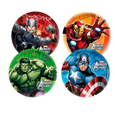 Prato-18cm-Avengers-Animated-C--8-Unid.-