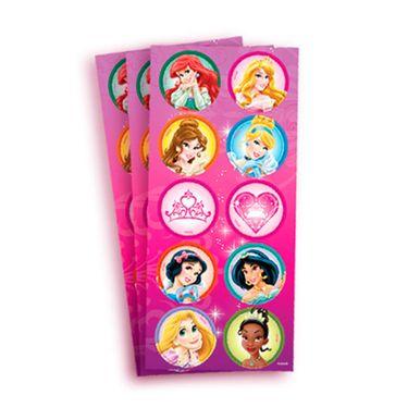adesivo-decorativo-redondo-princess-debut-com-03-cartelas-regina-festas