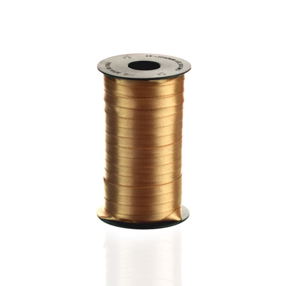 Fita De Cetim Ph Fit 7mm - Nº1 C / 100 Metros - Várias Cores Cor 228 Ouro