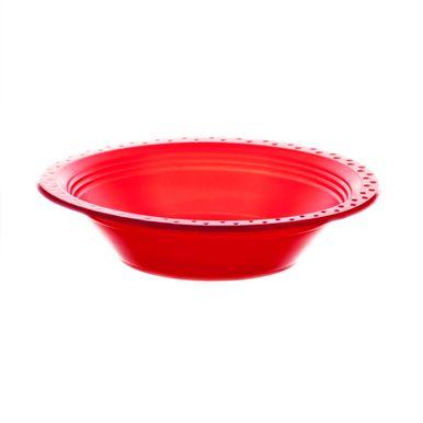 Prato-Fundo-15cm-Vermelho