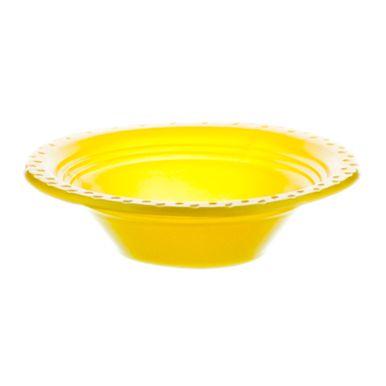 Prato-Fundo-12cm-Amarelo