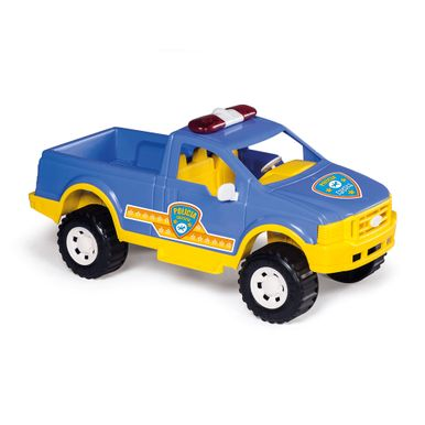 pick up policia azul calesita