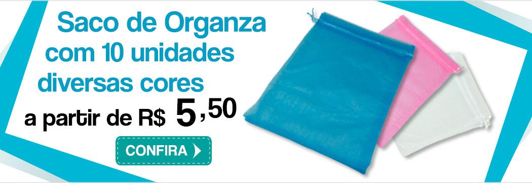 Banner Saco Organza