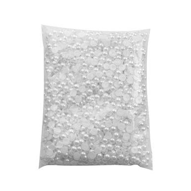 Meia-Perola-De-Plastico-Abs-10mm-com-500-Gramas-Branco