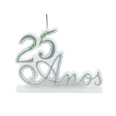 vela-25-anos-glitter-prata