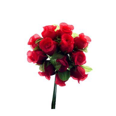 mini botão de flor vermelho 1