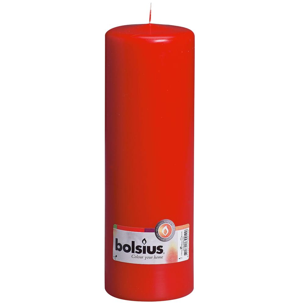 Velas pilar vermelha 250x80 C / 8Unidades: 0105152 Único