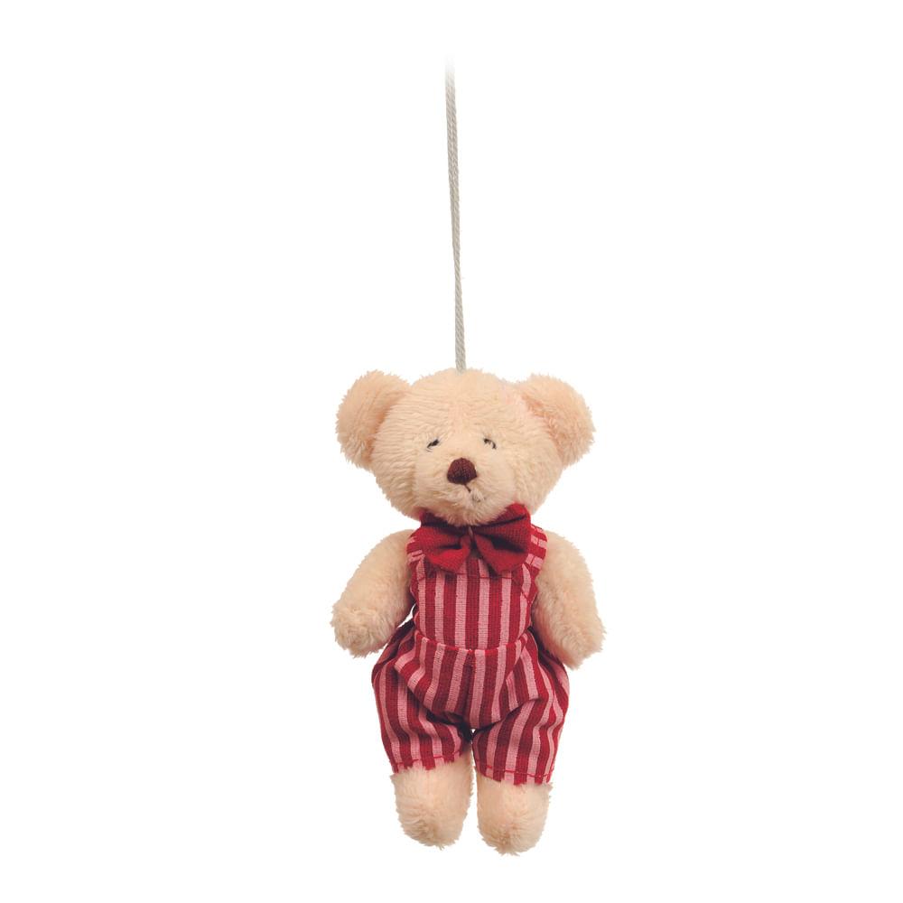 Urso em pé com roupa listrada c / 6 Und: 1213801 Único