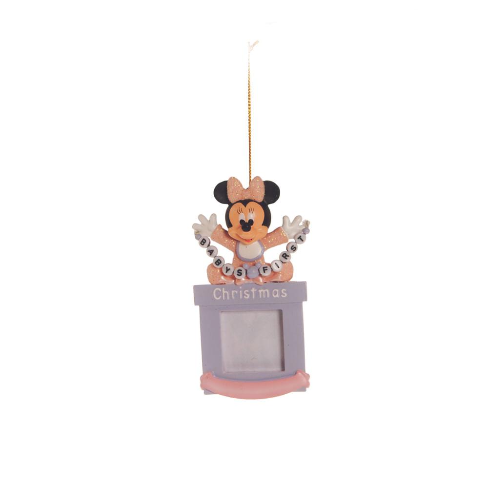 Enfeite porta - retrato baby Minnie Disney, para pendurar c / 6 unidades: 1443239 Único