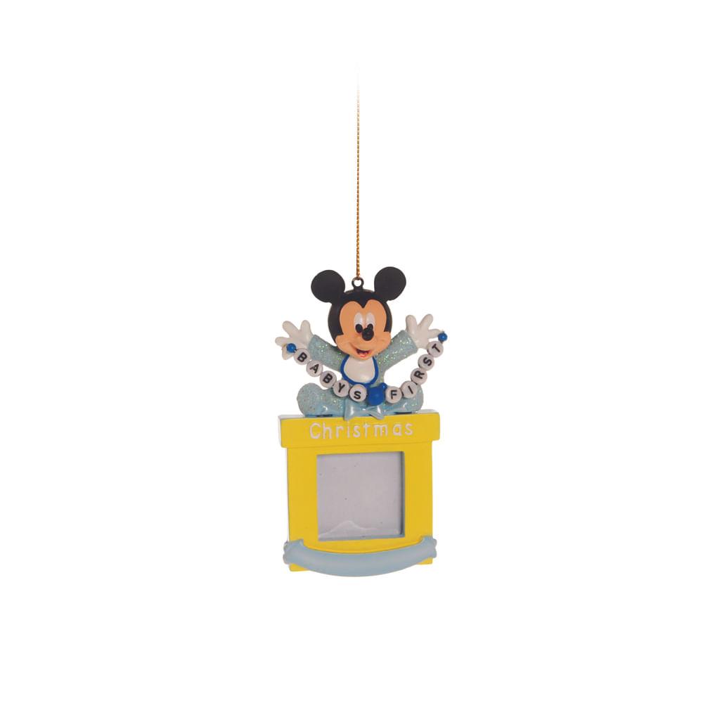 Enfeite porta - retrato baby Mickey Disney, para pendurar c / 6 unidades: 1443240 Único