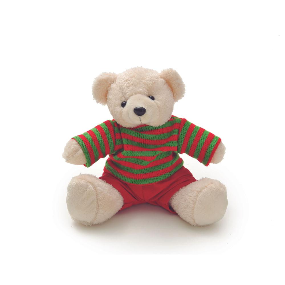 Urso com roupa listrada c / 4 unidades: 1513659 Único
