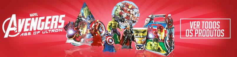 Banner Os Vingadores