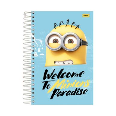 Caderno-1_8-Minions-Welcome-To-Minions-Paradise