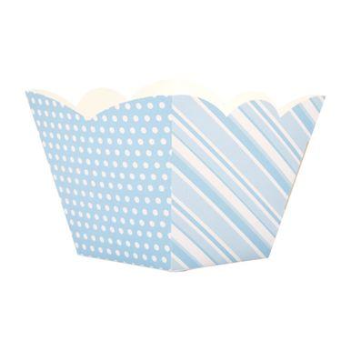 cachepot-listras-azul-e-branco