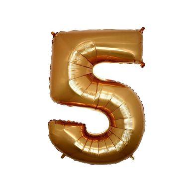 MIni-balao-numero-5-dourado-grabo