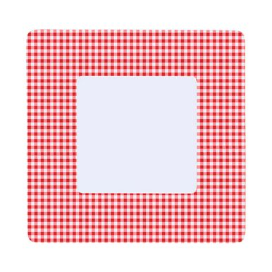 prato-quadrado-raso-xadrez-vermelho