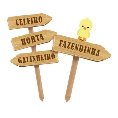 Fazendinha_Espeto_Decorativo_para_Jardim_Celeiro_Jardim_Galinheiro