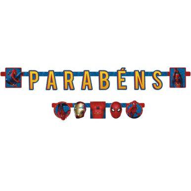 faixa-parabens-spider-man-home-coming