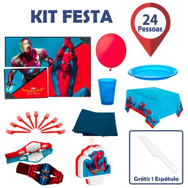 Kit-Festa-Spier-Man-Homecoming-24-pessoas