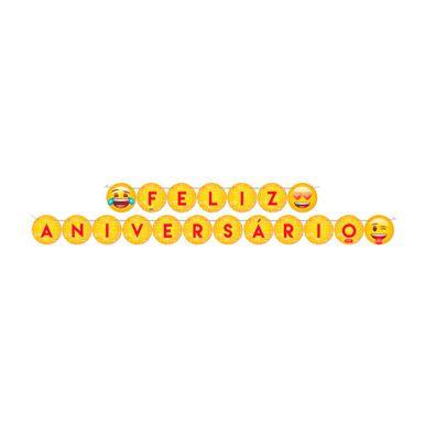 faixa-feliz-aniversario-emoji