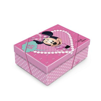 Walt_Disney_Minnie_Caixa_Retangular_com_Elastico_Minnie