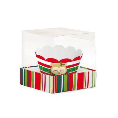 Natal_Cupcake_Caixas_Acetato_Christmas_Listras_Aplicado