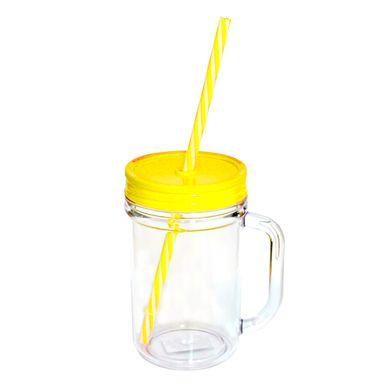 Caneca-acrilica-com-tampa-e-canudo-350ml-amarela
