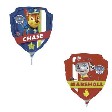 balao-metalizado-patrulha-canina-chase-e-marshall