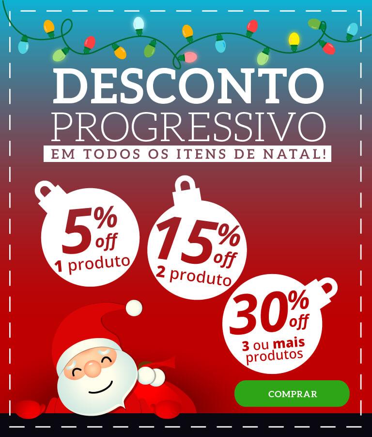 Desconto Progressivo Natal