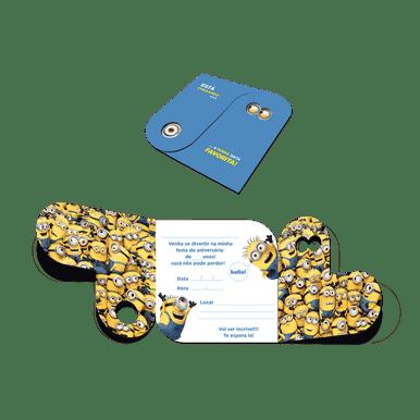 Convite-Aniversario-Minions
