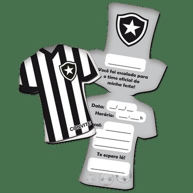 Convite Botafogo 10x23cm C 8 Unidades eaec11de62ecb