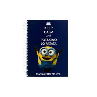 Minions-200-Folhas-Keep-Calm