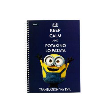 Minions-96-Folhas-Keep-Calm