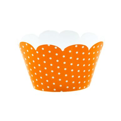 Wrap-Para-Cupcake-Laranja-com-Poa-Branco-2