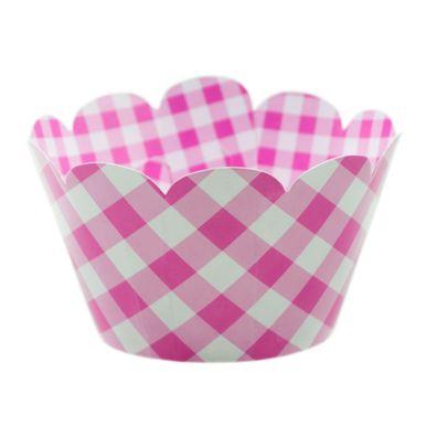 Wrap-Para-Cupcake-Xadrez-Rosa-3