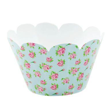 Wrap-Para-Cupcake-Floral-Azul