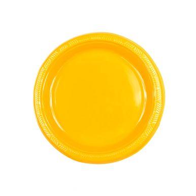Prato-neon-laranja-18cm