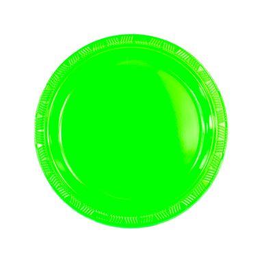 Prato-neon-verde-23cm