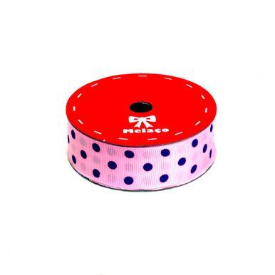 fita-gorgurao-melaco-25mm-rosa-com-poa-azul-com-10m-1
