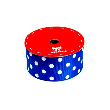 fita-gorgurao-melaco-40mm-azul-royal-com-poa-branco-com-10m-1